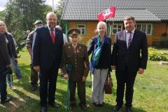 Nevyriausybinių organizacijų atstovų sąskrydis Varėnos rajone, Tėvynės gynėjų Jakavonių šeimos sodyboje