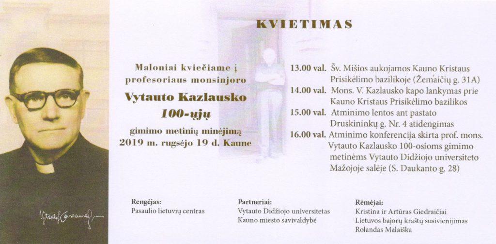 V. Kazlauskas